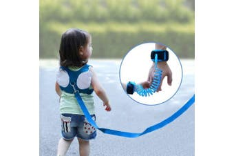 OFNMY Baby Safety Harness Backpack, Anti Lost Wristband, Toddler Walking Safety Harness Rein for Kids, Toddler Reins for Walking