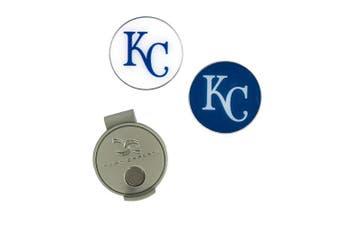 (Kansas City Royals) - MLB Hat Clip & 2 Ball Markers