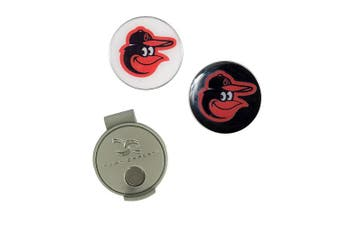 (Baltimore Orioles) - MLB Hat Clip & 2 Ball Markers