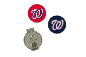 (Washington Nationals) - MLB Hat Clip & 2 Ball Markers