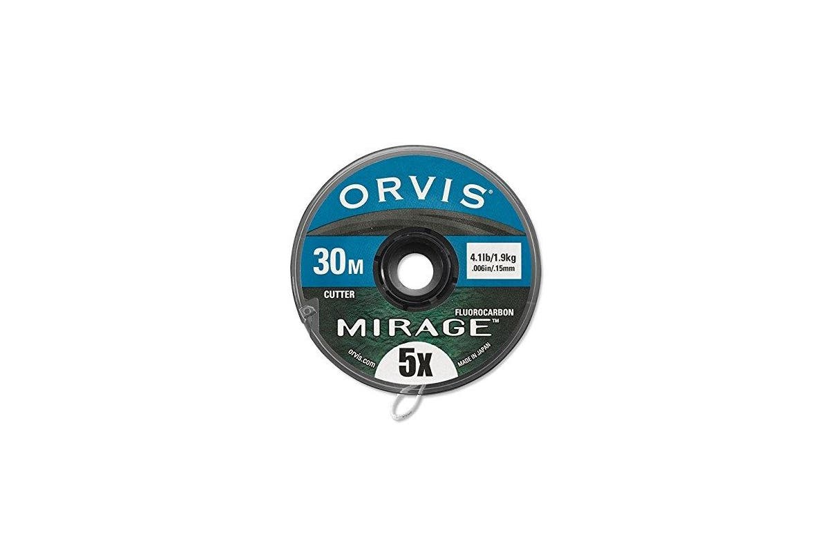 (6X) - Orvis Mirage Fluorocarbon Tippet 30M Spool