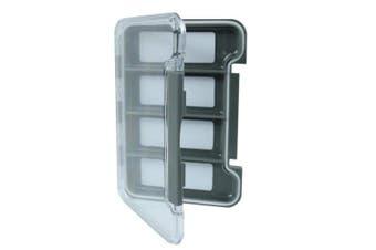 (4-Slots) - The Elixir Advenature Waterprooof Fly Fishing Tackle Box Lure Lures Spoon Hook Bait Storage Box Case