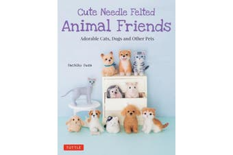 Cute Needle Felted Animal Friend