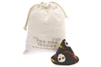 Pee-pee Teepee Skulls Black - Laundry Bag