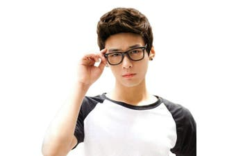 (Light Brown) - Light Brown Short Wig,Acecharming Men Fashion Synthetic Quiff Hair Wigs For Daily Use with Cap