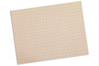 (0.2cm  x 15cm  x 23cm  – Single Sheet, Beige – 1% Perforated) - Rolyan Splinting Material Sheet, Tailor Splint, Beige, 0.2cm x 15cm x 23cm , 1% Perforated, Single Sheet