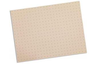 (0.3cm  x 15cm  x 23cm  – Single Sheet, Beige – 1% Perforated) - Rolyan Splinting Material Sheet, Tailor Splint, Beige, 0.3cm x 15cm x 23cm , 1% Perforated, Single Sheet