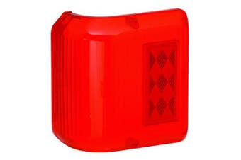 (1) - Bargman 34-86-711 Wrap Around Clearance Light #86 - Red Replacement Lens Only