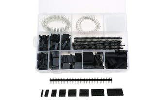 1450Pcs 2.54mm Dupont Crimp Pin Conector Pin Header Wire Jumper and Male Female Crimp Pins Kit