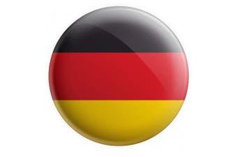 "Germany - German Flag Large Pin Badge - 3"" (75mm) - Gift - Birthday - Christmas - Stocking Filler"