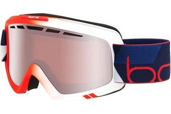 (Matte Red Gradient, M/L) - Bolle Unisex's Nova II Goggles, Matte Red Gradient, Medium/Large