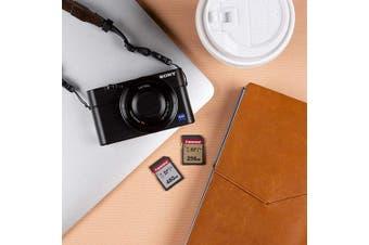 Transcend 256GB SDXC 300S Memory Card, Class 10, U3, V30, 95MB/s