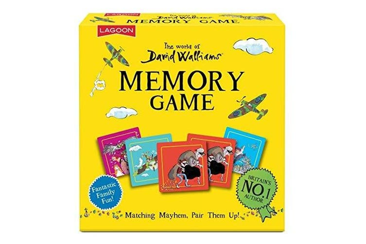 Lagoon Group David Walliams Memory Game