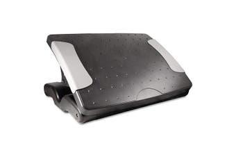 Kantek Professional Adjustable Footrest, 4 to 18cm Height, Black (FR600)