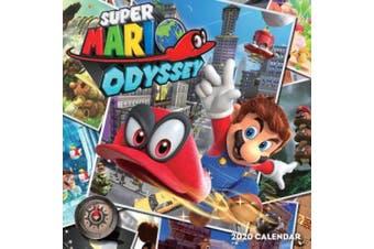 Super Mario Odyssey 2020 Wall Calendar