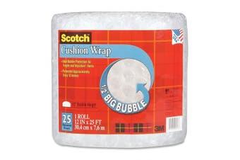 (30cm  x 7.6m) - Scotch Cushion Wrap, 30cm x 7.6m, 1.3cm Bubble (BB7912-25)