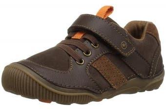 (Toddler (1-4 Years), 4.5 M US Toddler, Brown) - Stride Rite Kids' SRT Wes Casual Sneaker