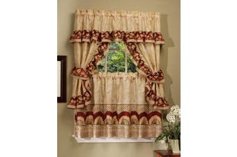 (90cm ) - Achim Home Furnishings Sunflower Cottage Set, 90cm , Antique