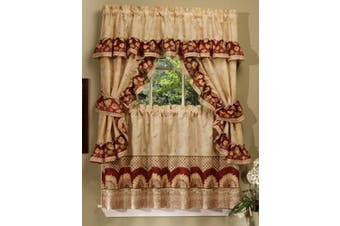 (60cm ) - Achim Home Furnishings Sunflower Cottage Set, 60cm , Antique