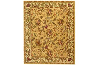 (2.4m x 3.4m) - Safavieh Chelsea Collection HK141A Hand-Hooked Ivory Premium Wool Area Rug (2.4m x 3.4m)