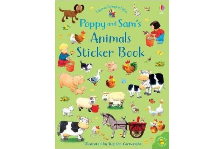 Poppy and Sam's Animals Sticker Book (Farmyard Tales Poppy and Sam)