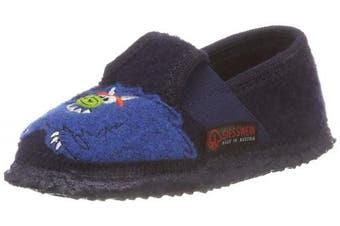 (8.5 UK Child, (Ocean 588)) - Giesswein Boys' Tylsen Low-Top Slippers