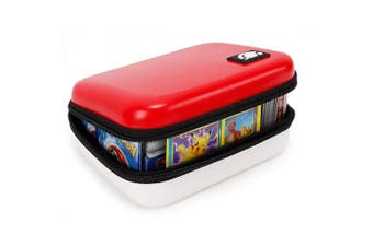 Lets Go 400 Cards Fitted Carrying Case Compatible with Pokemon Cards Ex Gx Card Holder for Kids Binder Toys