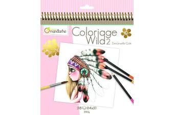 (Theme 2) - Avenue Mandarine Colouring Book