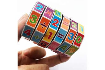 Bihood Math Learning Toys Mathematics Learning Toys Math Counting Cubes ADHD Fidget Toys Mindful Parenting ADHD ADHD Toys ADHD Toys Kids 3D Cube