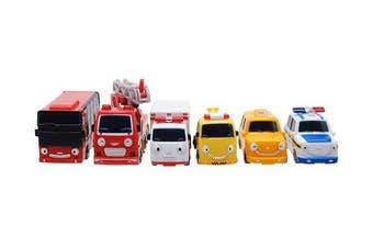 (Tayo_specialfriend_6p) - Frank Pat Alice Nuri Toto Cito - The Little Bus Tayo Special Mini Bus Set 6pcs