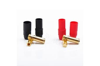 Amass AS150 7.0mm Anti Spark Connector Plug Red/Black Set for RC FPV Power