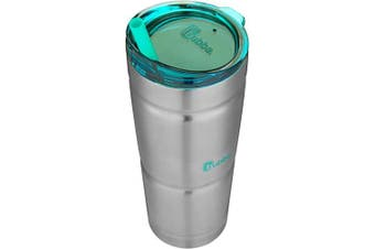 (710ml, Stainless Steel w/ Island Teal Lid) - bubba Straw Envy Vacuum-Insulated Stainless Steel Tumbler, 710ml, Island Teal Lid