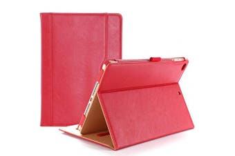 (Red) - ProCase iPad 9.7 Case 2018/2017 iPad Case - Stand Folio Cover Case for Apple iPad 25cm , Also Fit iPad Air 2 / iPad Air -Red