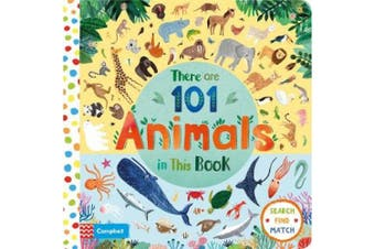 There are 101 Animals in this Book (There Are 101) [Board book]