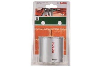 (67 mm) - Bosch 2609255625 Tungsten Carbide Grit Holesaw with Diameter 67mm