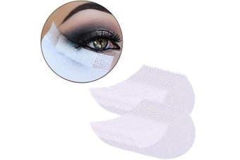 ADAMAI Pack of 100pcs Professional Disposable Eyeshadow Shields Under Eye Eyeshadow Gel Pad Patches Eyelash Extensions Lip Makeup