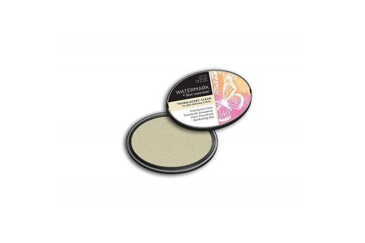 Spectrum Noir SN-IP-WTM-TCLE Ink Pad-Watermark (Translucent), Clear