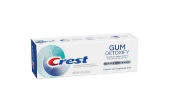 Crest Gum Detoxify Gentle Whitening Fluoride Toothpaste - 120ml