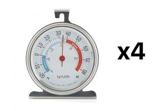 Taylor Refrigerator Thermometer -20 Deg F To 80 Deg F 7.6cm - 0.6cm X 7.6cm - 1.9cm