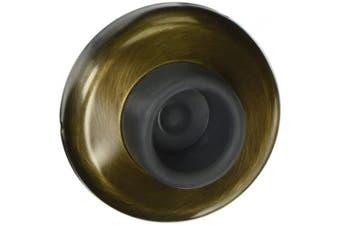 (Antique Brass) - Deltana WB250U5 27cm Diameter Wall Mount Concave Flush Bumper
