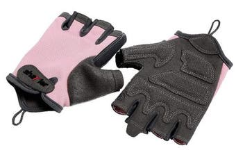 (Large, Pink) - Shayier Half-finger Protecting Gloves for Gym Workout Fitness Cross Training Weight Lifting & Outdoor Sports