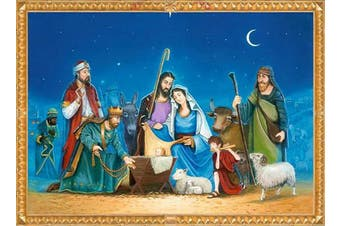 Coppenrath 'The Nativity' Traditional Advent Calendar with Nativity Story in Words and Pictures