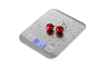 Meich Food Scale/Digital Multifunction Kitchen Scale Steelyard Ultra Slim Jewellery Scale Portable Stainless Steel Platform Cooking Tools 11lb/ 5kg, C13