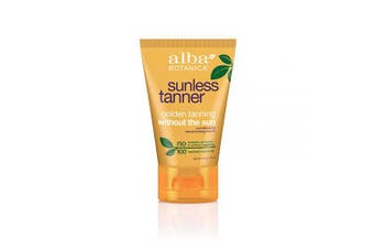 (120ml) - Alba Botanica Sunless Tanner Lotion, 120ml