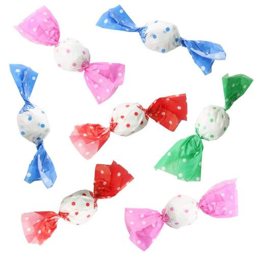 400pcs Candy Wrappers Greaseproof Wax Papers Homemade Candy Wrapping Papers