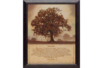 "(48cm  x 60cm ) - Artistic Reflections P241 ""Living Life"" Framed Art by Bonnie Mohr, 48cm x 60cm"