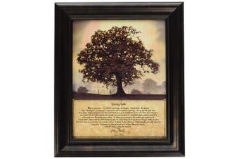 "(10.5x12.5) - Artistic Reflections P283 ""Living Life"" Framed Art by Bonnie Mohr, 27cm x 32cm"