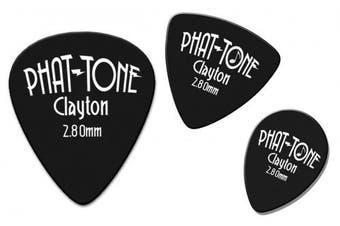 (Black) - Clayton Picks PTS/3 Guitar Pick