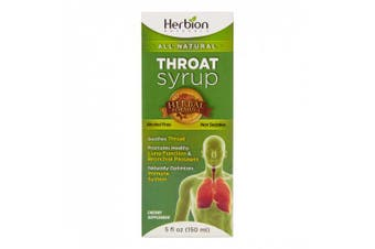 Herbion Naturals Throat Syrup, 150ml