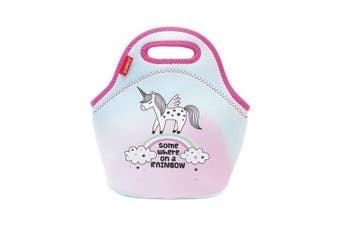 (Neoprene Unicorn) - Unicorn Lunch Tote,Girls Insulated Lunch Bag Cooler Bag for School Office Picnic Travel
